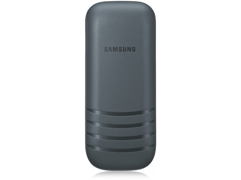Мобильный телефон Samsung E1202 Duos Dark Gray - 1