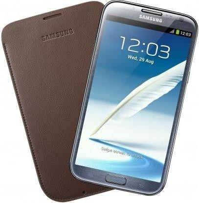 Чехол Samsung для GT-N7100 Galaxy Note II Choco Brown (EFC-1J9LCEGSTD) - 1