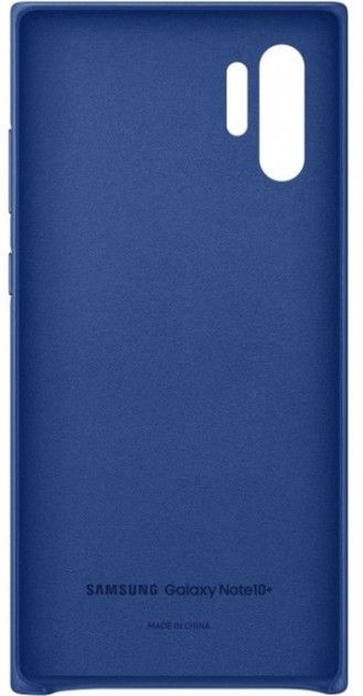 Чехол Samsung Leather Cover для Samsung Galaxy Note 10 Plus (EF-VN975LLEGRU) Blue от Територія твоєї техніки - 3