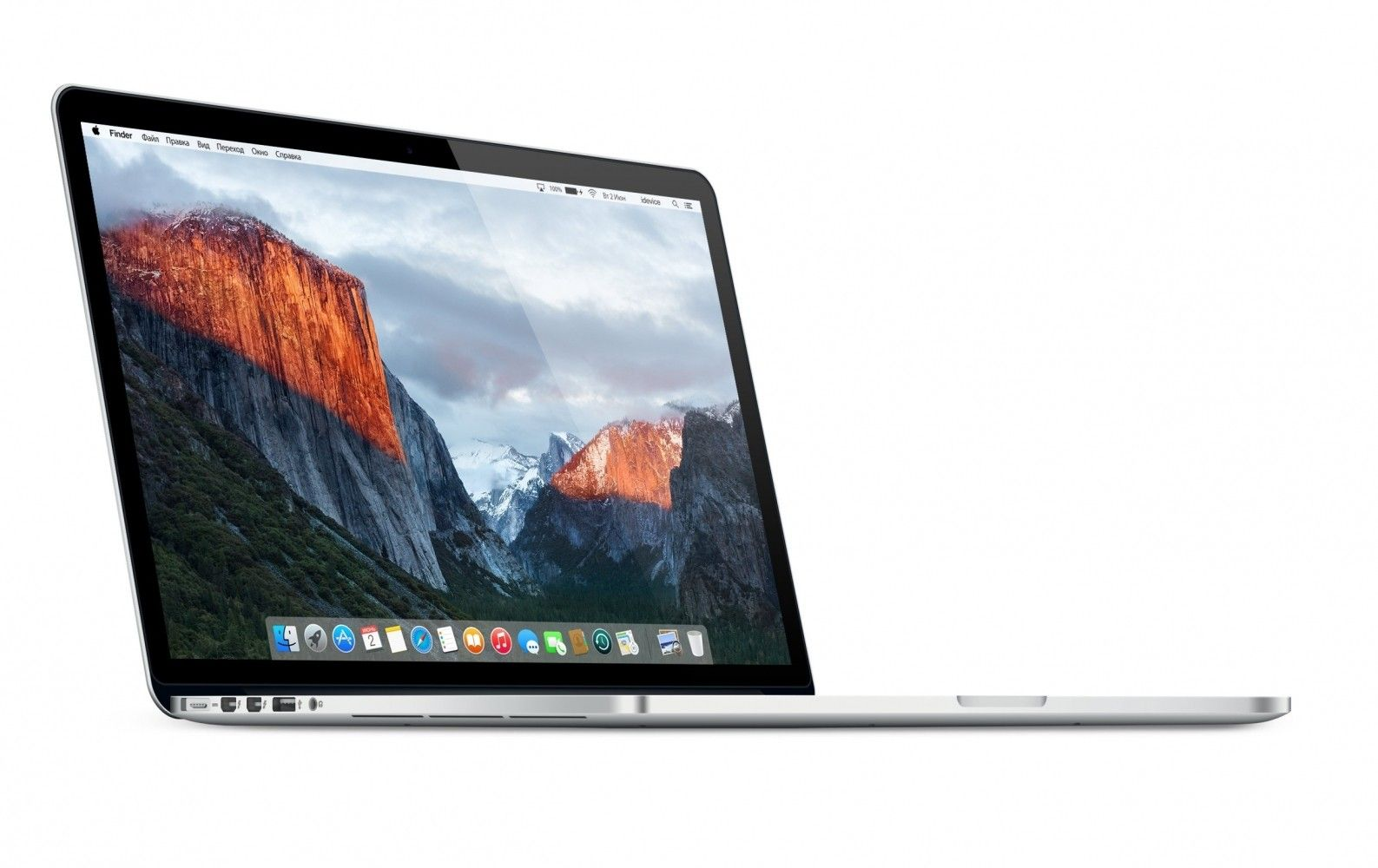 "Ноутбук Apple MacBook Pro Retina 15"" (MJLQ2UA/A) - 3"