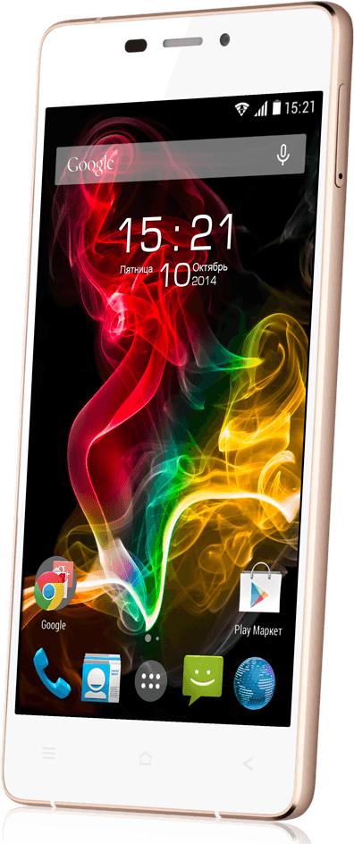 Мобильный телефон Fly IQ4516 Octa White - 2