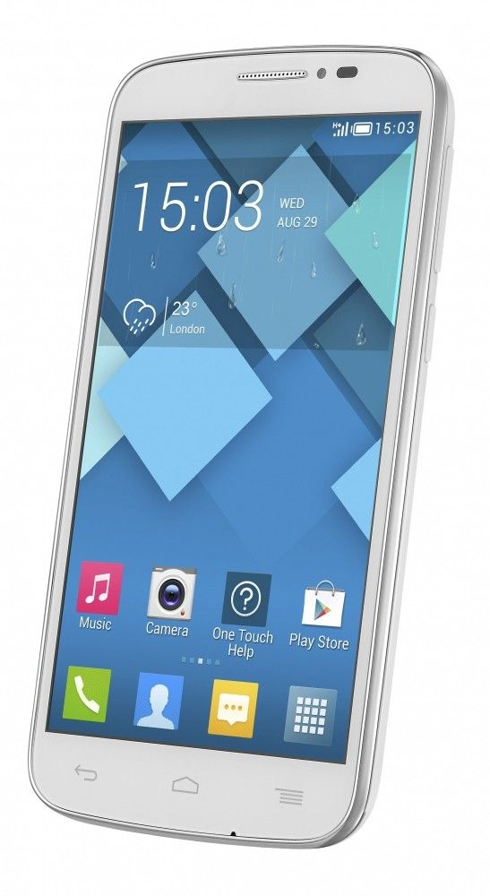 Мобильный телефон Alcatel One Touch 7041D POP C7 Dual Sim White - 6