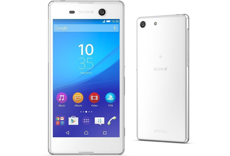 Мобильный телефон Sony Xperia M5 E5633 White - 1