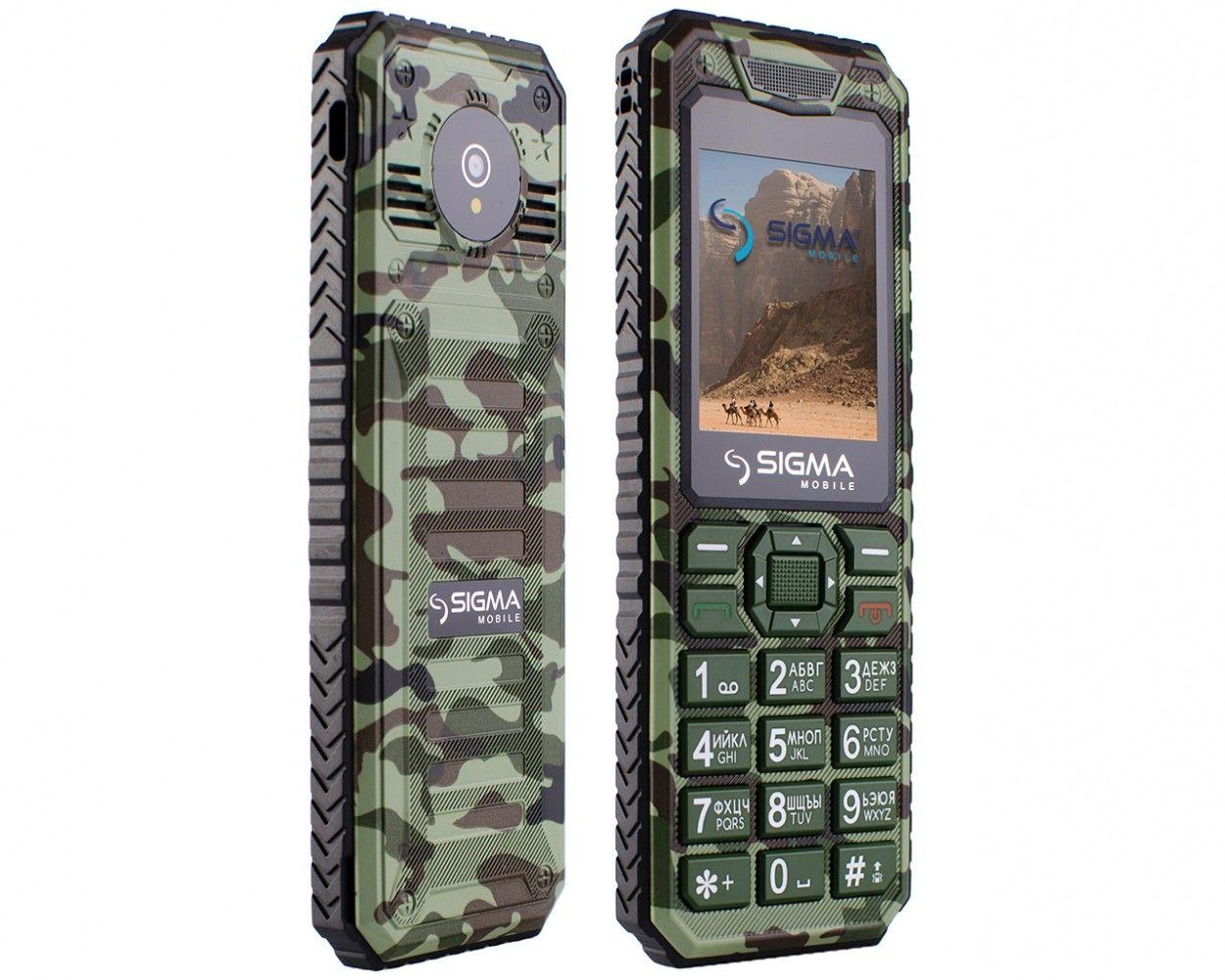 Мобильный телефон Sigma mobile X-style 11 Dragon Green Camouflage - 2