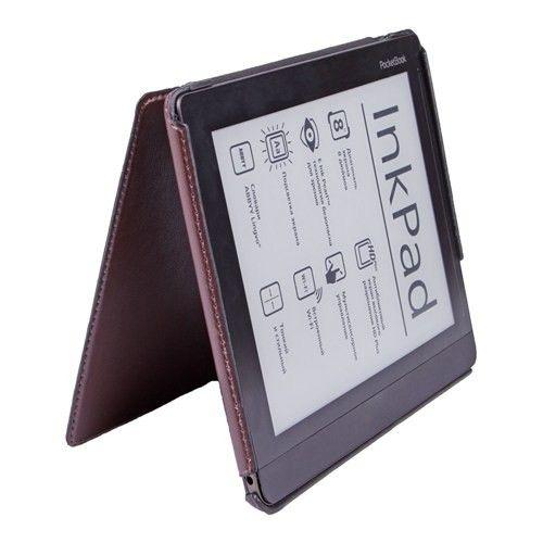 Обложка AIRON Premium для PocketBook 840 brown - 4