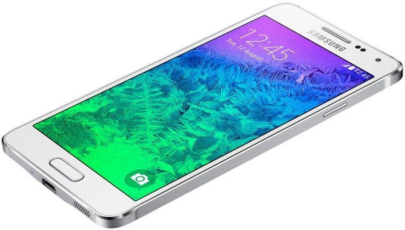Мобильный телефон Samsung Galaxy Alpha G850F Dazzling White - 6