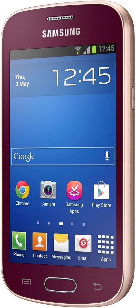 Мобильный телефон Samsung S7390 Galaxy Trend Wine Red - 4