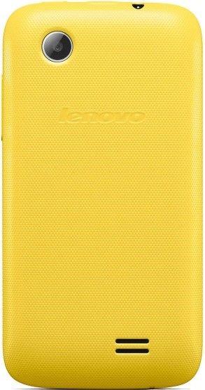 Мобильный телефон Lenovo A369i Yellow - 2