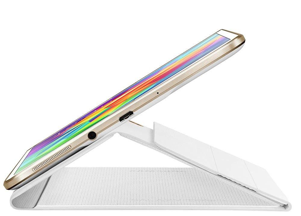 """Чехол Samsung для Galaxy Tab S 8.4"""" EF-BT700WWEGRU Dazzling White - 1"""