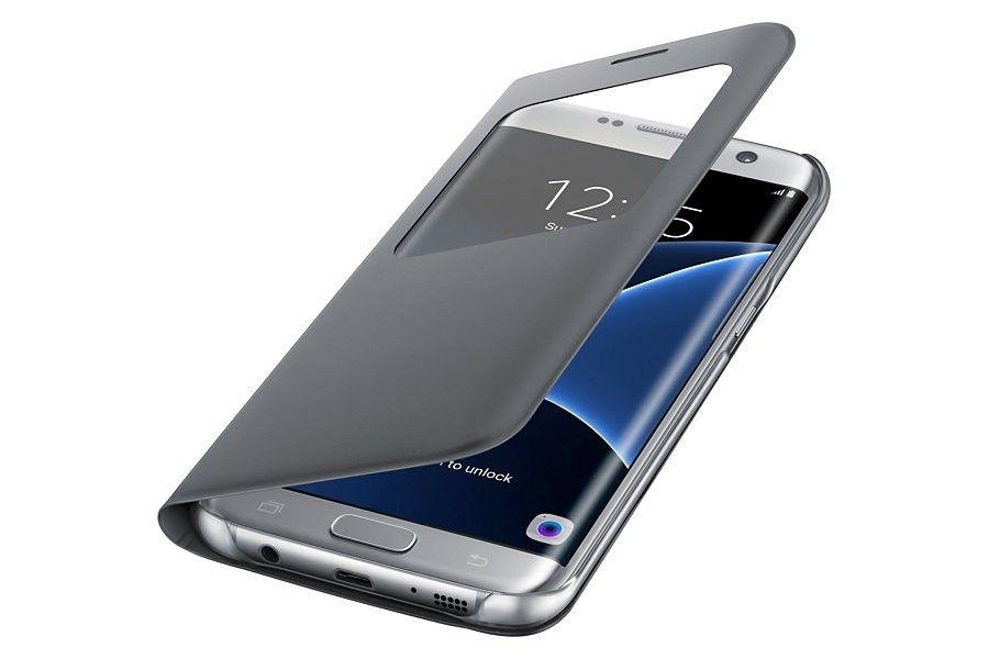 Чехол Samsung S View для Galaxy S7 Silver (EF-CG930PSEGRU) - 2