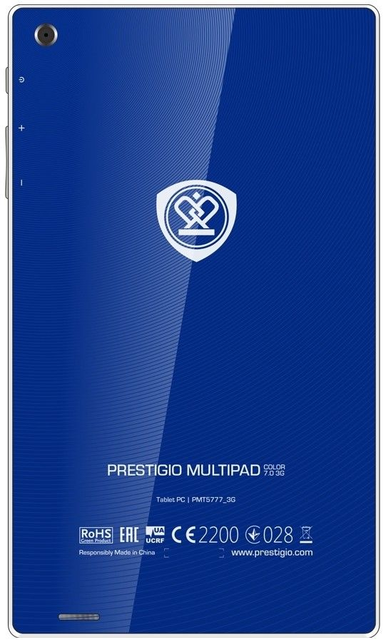 Планшет Prestigio MultiPad Color 7.0 3G Blue (PMT5777_3G_D_BL) - 1