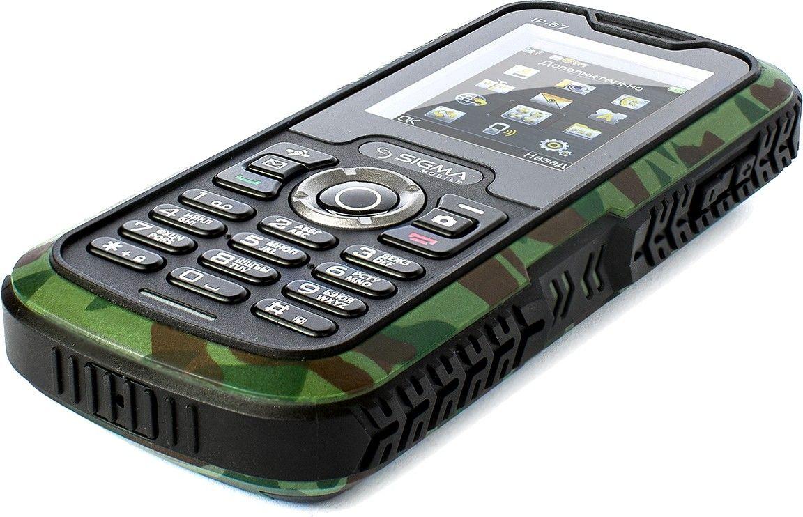 Мобильный телефон Sigma mobile X-treme IP67 Khaki - 4