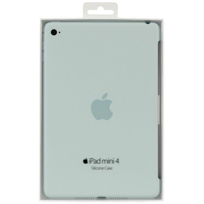 Силиконовый чехол Apple Silicone Case для  iPad mini 4 (MLD72ZM/A) Turquoise - 5