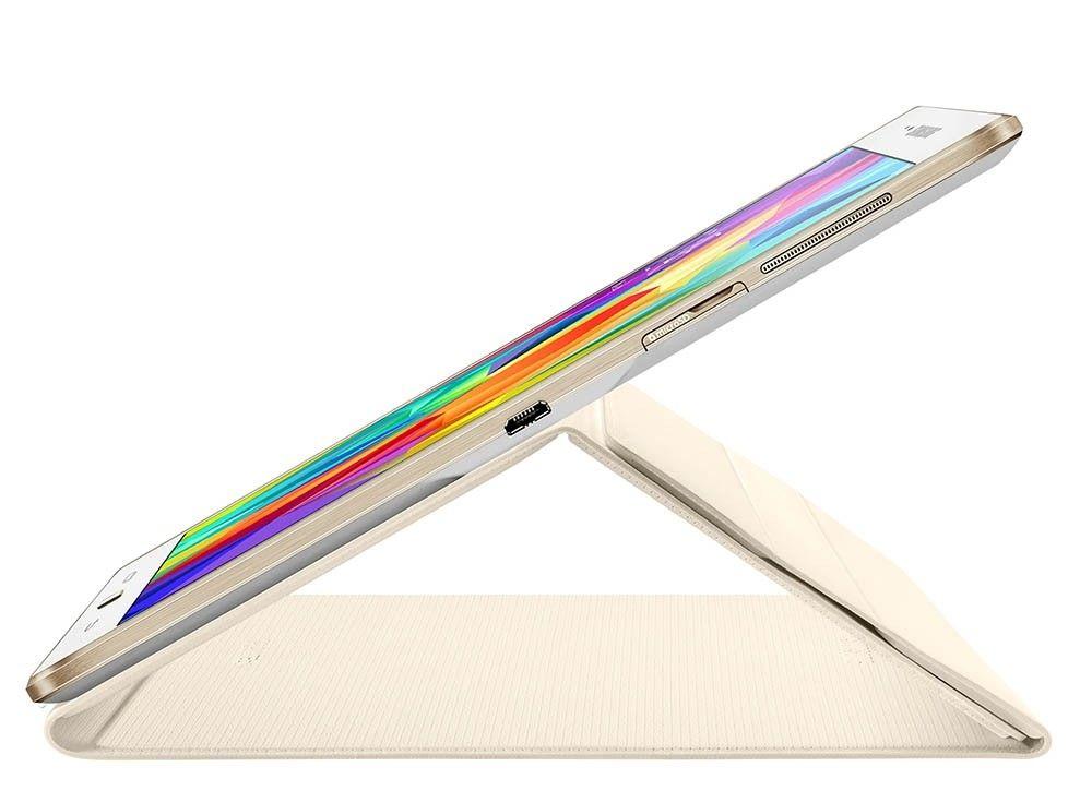 "Чехол Samsung T80x для Samsung Galaxy Tab S 10.5"" Dazzling White (EF-BT800BWEGRU) - 3"