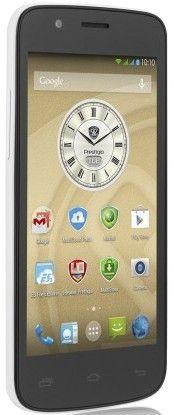 Мобильный телефон Prestigio MultiPhone 5504 DUO White - 2