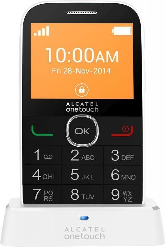 Мобильный телефон Alcatel One Touch 2004G White - 1