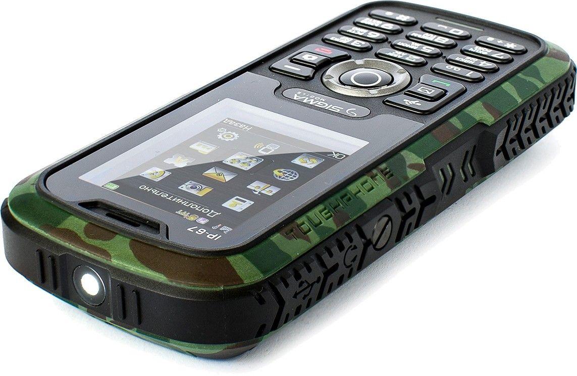 Мобильный телефон Sigma mobile X-treme IP67 Khaki - 3