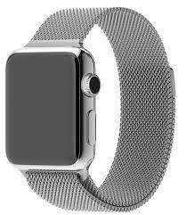 Ремешок Milanese Loop для Apple Watch 38мм (MJ5E2) Silver - 2
