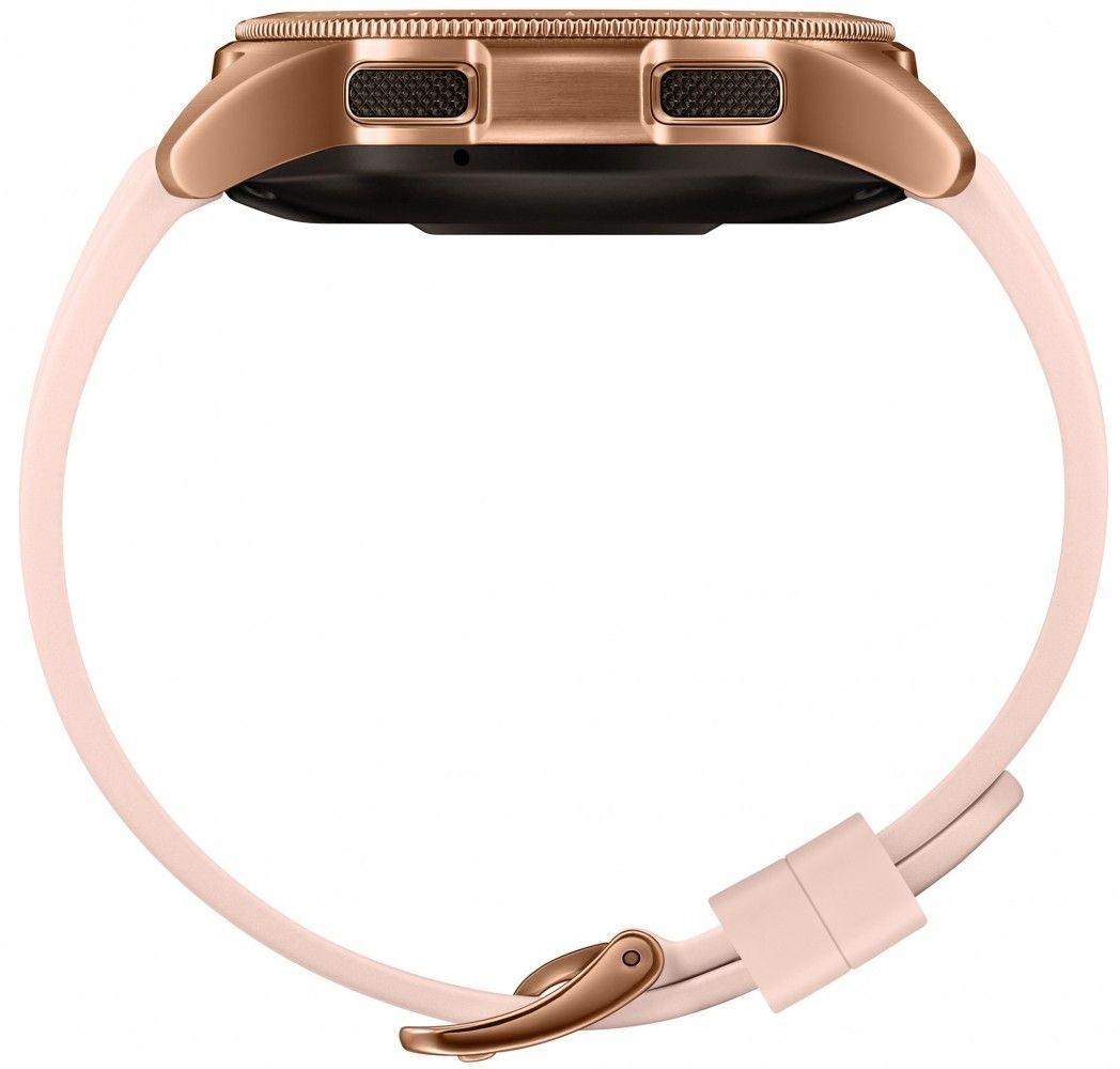 Смарт часы Samsung Galaxy Watch 42mm (SM-R810NZDASEK) Gold от Територія твоєї техніки - 5