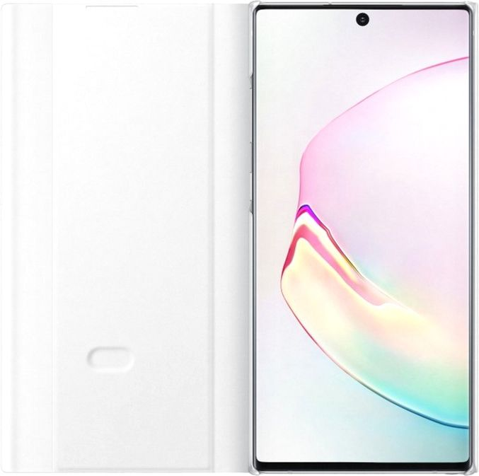 Чехол-книжка Samsung Clear View Cover для Samsung Galaxy Note 10 Plus (EF-ZN975CWEGRU) White от Територія твоєї техніки - 3