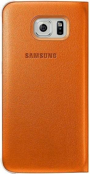 Чехол Samsung Zero Edge для Samsung Galaxy S6 Edge Orange (EF-WG925POEGRU) - 1