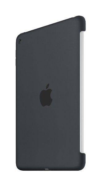 Силиконовый чехол Apple Silicone Case для  iPad mini 4 (MKLK2ZM/A) Charcoal Gray - 1