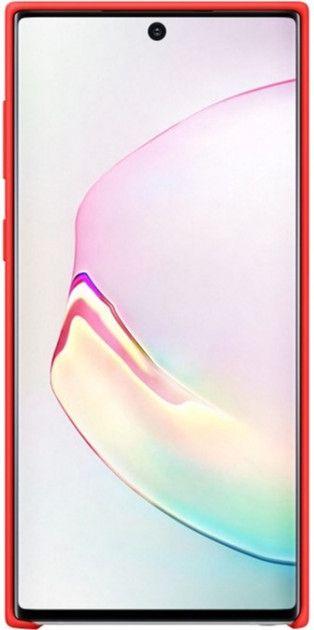 Накладка Samsung Silicone Cover для Samsung Galaxy Note 10 (EF-PN970TREGRU) Red от Територія твоєї техніки - 2