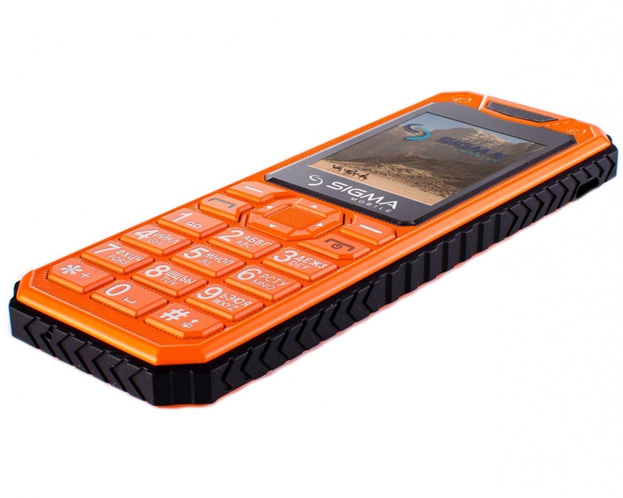Мобильный телефон Sigma mobile X-style 11 Dragon Оrange - 4