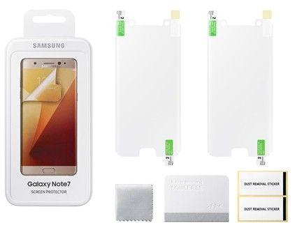 Защитная пленка Samsung Galaxy Note 7 ET-FN930CTEGRU - 2