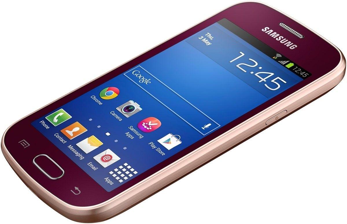 Мобильный телефон Samsung S7390 Galaxy Trend Wine Red - 3