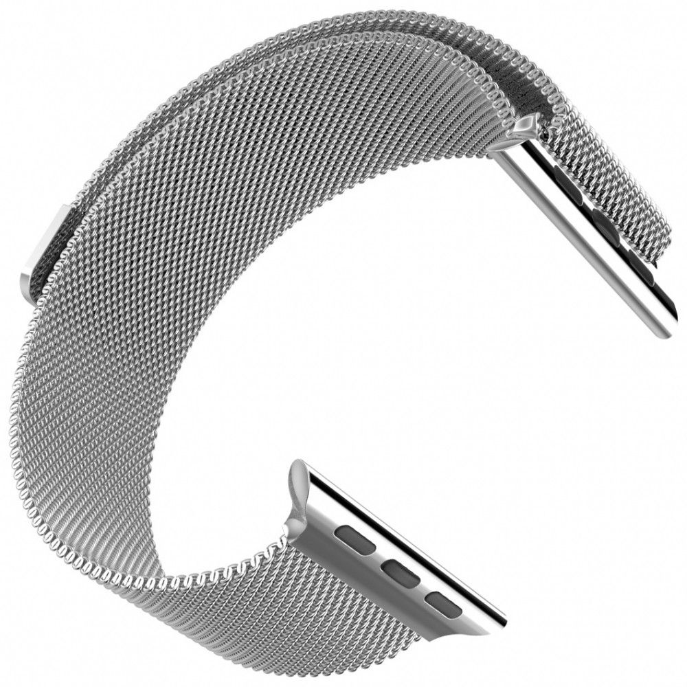 Ремешок Milanese Loop для Apple Watch 38мм (MJ5E2) Silver - 1