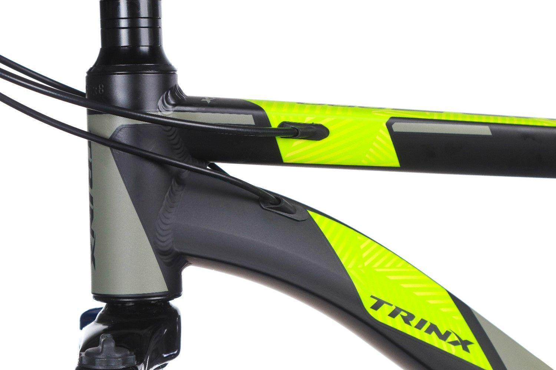 "Велосипед TRINX Majestic M136Pro 2019 29"" 18"" (M136ProMBGG) Matt Black-Grey-Green"