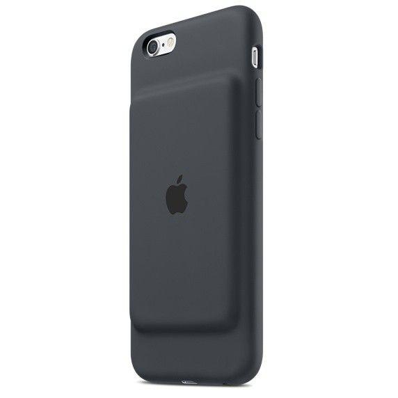 Чехол-аккумулятор Apple Smart Battery Case Charcoal Gray (MGQL2) для iPhone 6s - 1