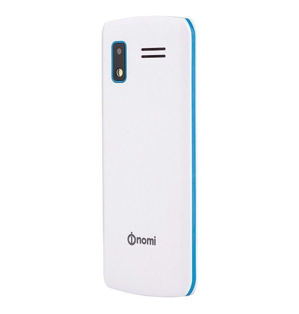 Мобильный телефон Nomi i243 White-Blue - 2