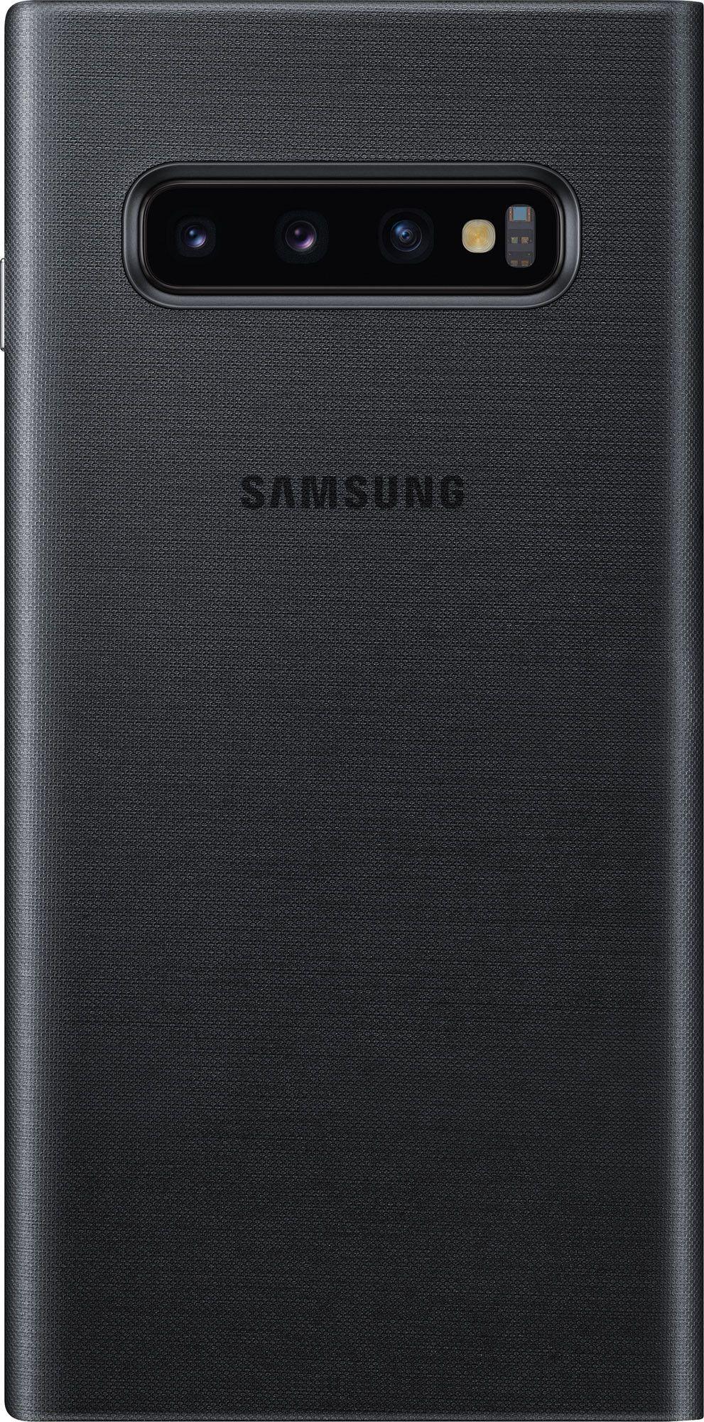 Чехол-книжка Samsung LED View Cover для Samsung Galaxy S10 (EF-NG973PBEGRU) Black от Територія твоєї техніки - 3