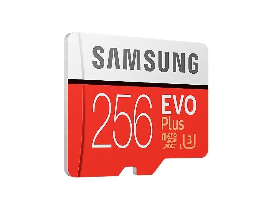 Карта памяти Samsung microSDXC 256GB EVO Plus UHS-I (MB-MC256GA/RU) от Територія твоєї техніки - 4