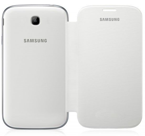 Чехол-книга Samsung для Galaxy Win I8552 White (EF-FI855BWEGWW) - 1