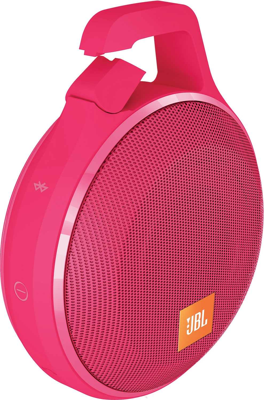 Портативная акустика JBL Clip+ Pink (CLIPPLUSPINK) - 2