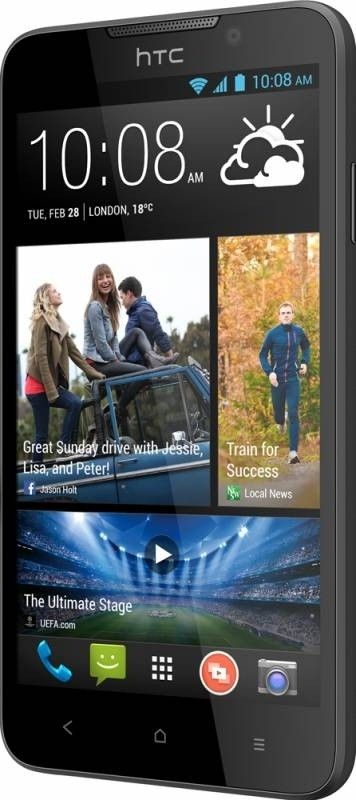 Мобильный телефон HTC Desire 516 Dual Sim Dark Grey - 3