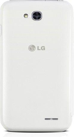 Чехол LG QuickWindow для LG Optimus L90 D405 White (CCF-380.AGEUWH) - 2