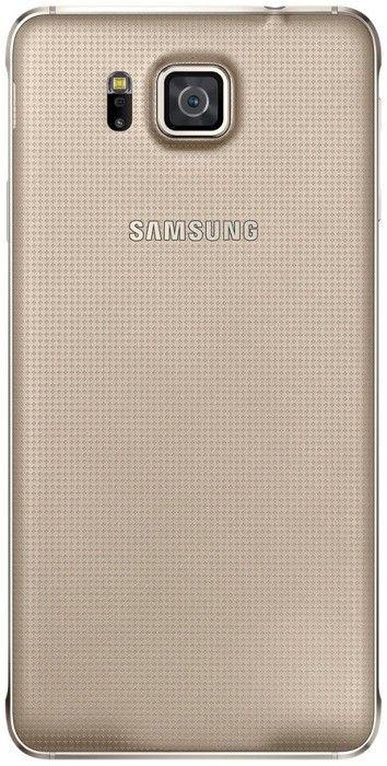 Мобильный телефон Samsung Galaxy Alpha G850F Frosted Gold - 4