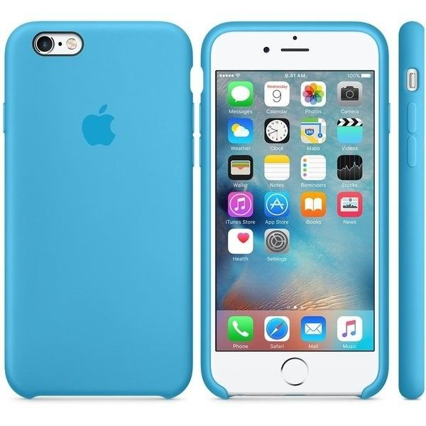 Панель Apple iPhone 6s Silicone Case Blue (MKY52ZM/A) - 2
