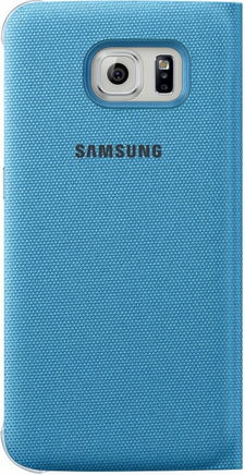 Чехол Samsung S View Zero для Samsung Galaxy S6 Blue (EF-CG920BLEGRU) - 1