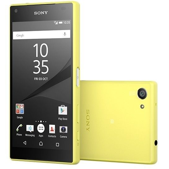 Мобильный телефон Sony Xperia Z5 Compact E5823 Yellow - 2