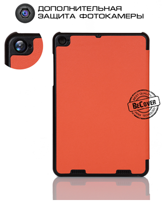 Чехол-книжка BeCover Smart Case для Xiaomi Mi Pad 2 Orange - 2