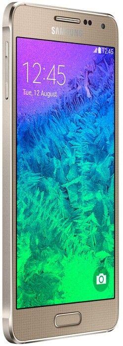 Мобильный телефон Samsung Galaxy Alpha G850F Frosted Gold - 5