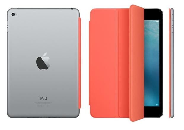 Чехол-книжка Apple Smart Cover для iPad mini 4 (MKM22ZM/A) Orange - 1
