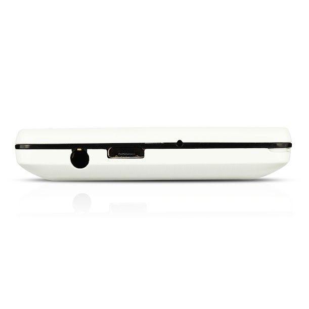 Мобильный телефон Prestigio 1280 Muze B1 Dual White - 2