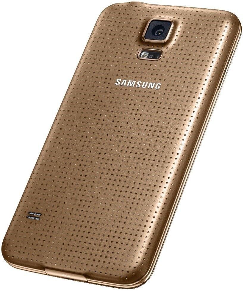 Мобильный телефон Samsung G900H Galaxy S5 (SM-G900HZDASEK) Copper Gold - 5