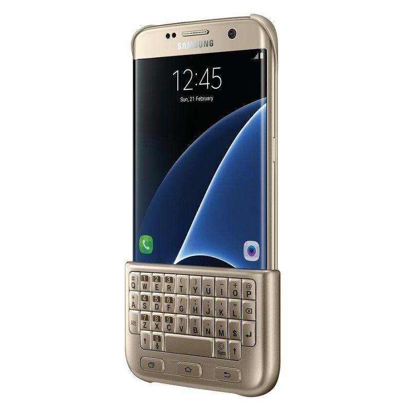 Чехол-клавиатура Keyboard Cover Samsung Galaxy S7 edge Gold (EJ-CG935UFEGRU) - 2